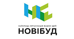 Логотип будівельної компанії НОВІБУД