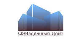 Логотип строительной компании Надежный дом