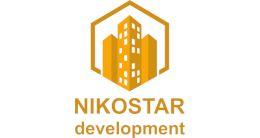 Логотип будівельної компанії Nikostar Development (Нікостар Девелопмент)