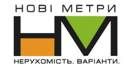 Логотип будівельної компанії Нові Метри