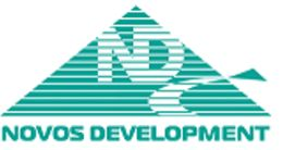 Логотип строительной компании Novos Development