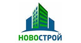 Логотип строительной компании Новострой