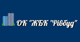 Логотип будівельної компанії ОК ЖБК Рівбуд