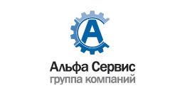 Логотип строительной компании ООО Альфа-Сервис