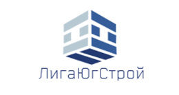 Логотип строительной компании ООО Лига Югстрой