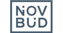 Логотип строительной компании ООО Новбуд