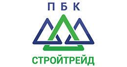 Логотип строительной компании ООО« ПБК-Стройтрейд »