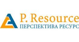 Логотип строительной компании ООО Перспектива ресурс