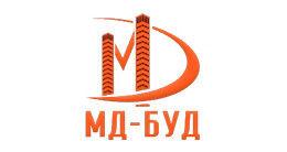 Логотип строительной компании ООО СК МД-БУД