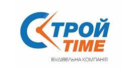 Логотип строительной компании ООО «Строй-тайм»