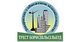 Логотип строительной компании ООО Трест Бориспильсильбуд