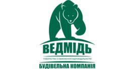 Логотип строительной компании ООО «Ведмідь»