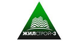 Логотип строительной компании ООО ЖИЛСТРОЙ-3