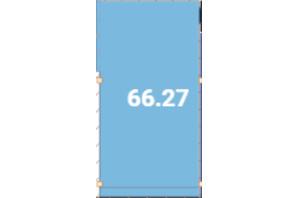 Офіс-центр Avila: планировка помощения 66.27 м²