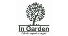Логотип строительной компании Отдел продаж In Garden