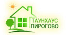 Логотип строительной компании Отдел продаж таунхаус «Пирогово»