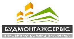 Логотип будівельної компанії ПП ВКФ БУДМОНТАЖСЕРВІС