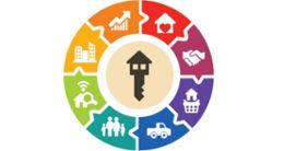 Логотип строительной компании Парковая Резиденция