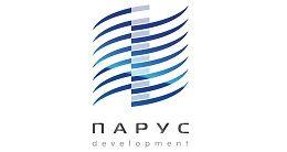 Логотип строительной компании Parus Development