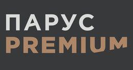 Логотип строительной компании Парус Премиум