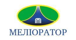 Логотип будівельної компанії ПрАТ Меліоратор