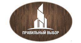 Логотип строительной компании Правильный выбор