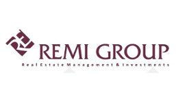 Логотип строительной компании Remi Group