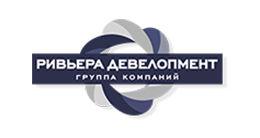 Логотип строительной компании Ривьера Девелопмент