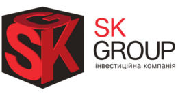 Логотип будівельної компанії SK Group (СК Групп)