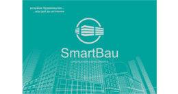 Логотип строительной компании СМАРТ БАУ
