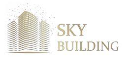 Логотип будівельної компанії Sky building (Скай білдінг)