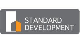 Логотип строительной компании Standard Development