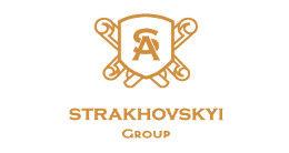 Логотип строительной компании Strakhovskyi Group
