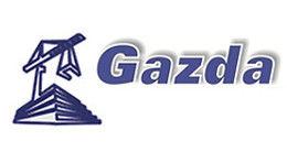 Логотип строительной компании Строительная компания Газда