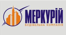 Логотип строительной компании Строительная компания Меркурий