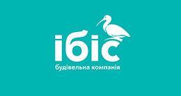 Логотип строительной компании Строительная компания Ибис