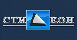 Логотип строительной компании Стикон