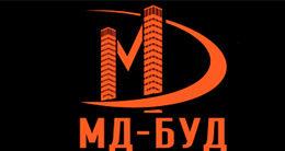 Логотип будівельної компанії ТОВ  БК МД-БУД
