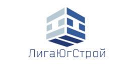 Логотип будівельної компанії ТОВ Ліга Югстрой