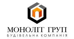 Логотип будівельної компанії ТОВ МОНОЛІТ-ГРУП