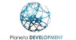Логотип будівельної компанії ТОВ Planeta Development