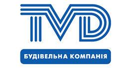 Логотип будівельної компанії ТВД (TVD)