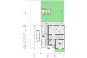 Таунхаус Club City: планування 4-кімнатної квартири 128.8 м²