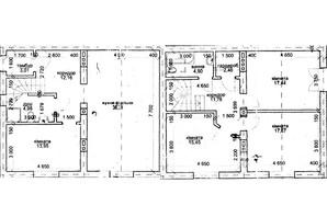 Таунхаус Новий Світ: планування 1-кімнатної квартири 139.93 м²