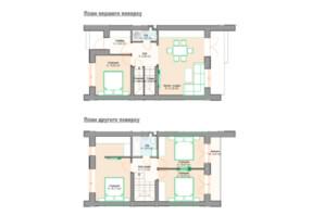 Таунхаус Scandi House: планування 3-кімнатної квартири 115 м²