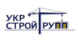 Логотип строительной компании Укрстрой Групп