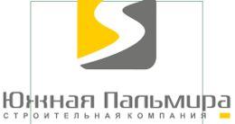 Логотип строительной компании Южная пальмира