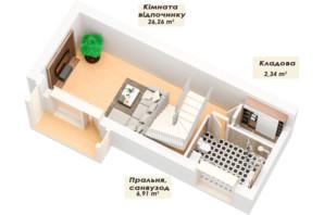 ЗК Королева Гора: планування 5-кімнатної квартири 143.91 м²