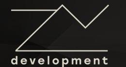 Логотип будівельної компанії ZV Development