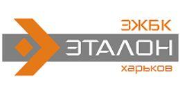 Логотип строительной компании ЗЖБК «ЭТАЛОН»